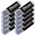 10xKeydo csomag (FIDO U2F) [Fekete]